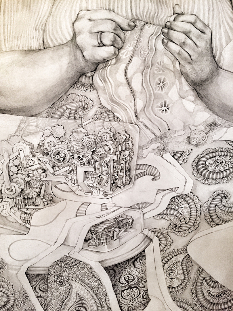 Moms Magic. Graphite 5x8feet