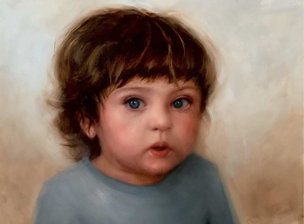 Teo. Oil. 12x16 NFS (children comission available)